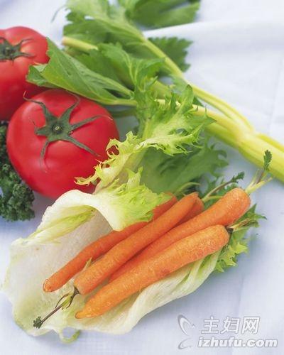 多吃胡萝卜增强抵抗力
