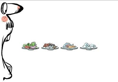 吃饭顺序竟严重影响你的胖瘦