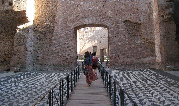 意大利罗马卡拉卡拉大浴场
