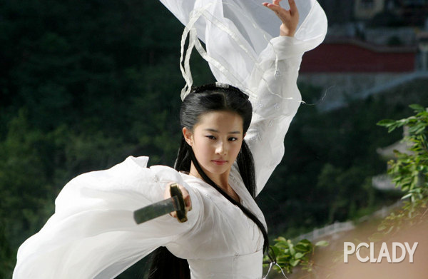 韩媒评中国古装四美