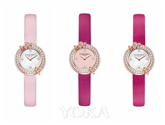 CHAUMET Hortensia Eden 绣球花伊甸园腕表,图片来源于品牌