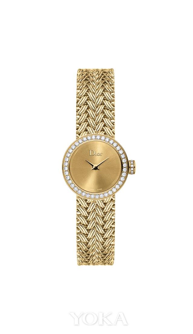 La Mini D de Dior Satine系列高级腕表,图片来源于品牌