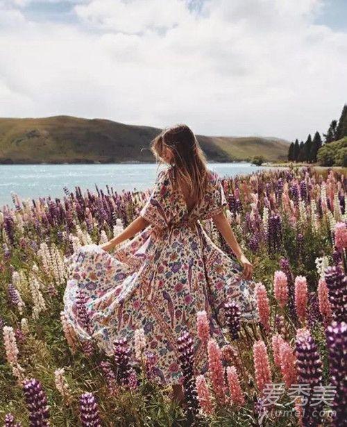 范冰冰最新活动照印花裙是什么牌子 夏季印花裙怎么穿好看