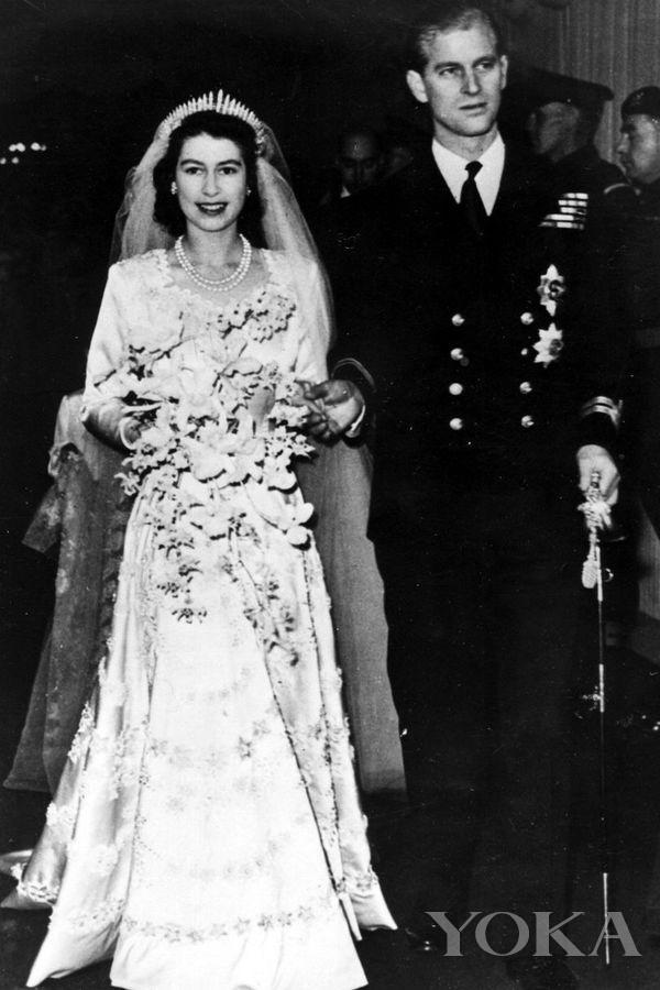 英女王与菲利普亲王