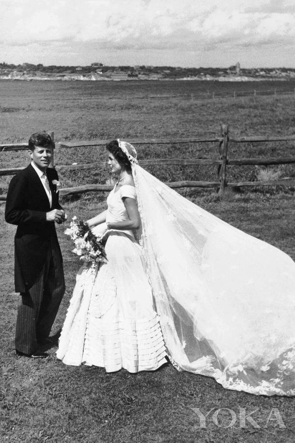 美国第35任总统肯尼迪与杰奎琳·肯尼迪