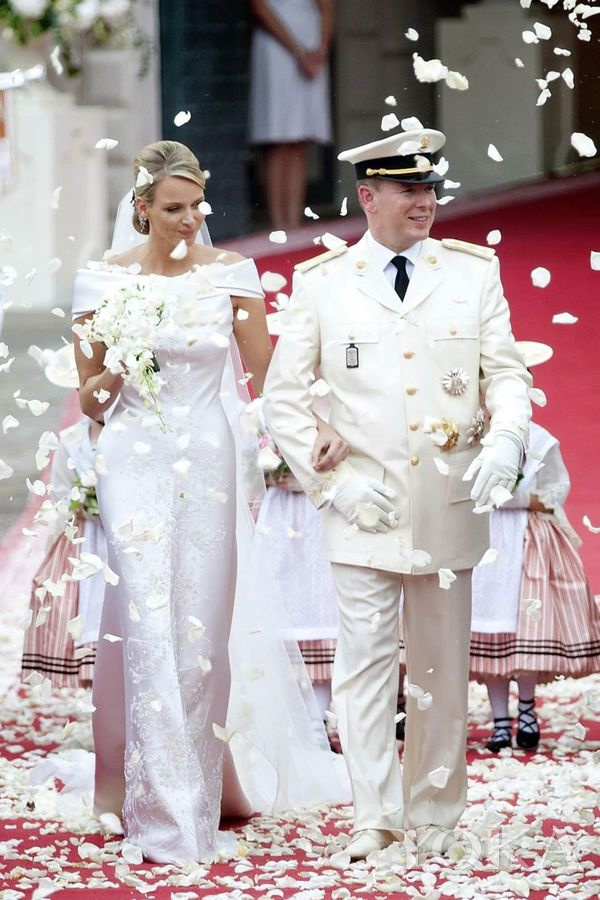 摩纳哥阿尔贝二世亲王与夏琳王妃