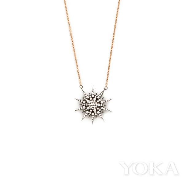 Maha Lozi星星项链,<!--_404ESCAPE404_--> 473.00,可购于shopbop.com,图片来自官网。