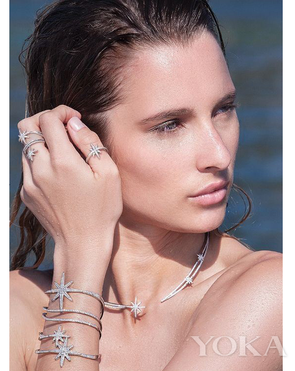 APM Monaco Meteorites Rose系列珠宝,图片来自官网。