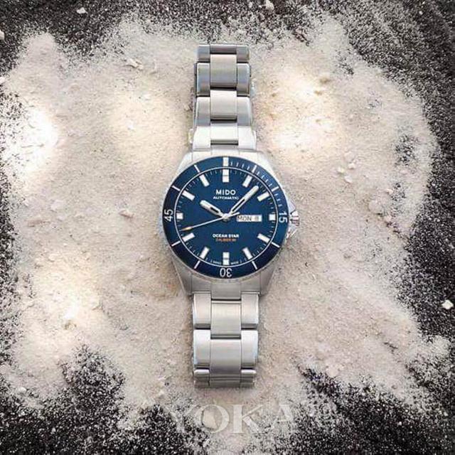 瑞士美度表ocean star领航者系列长动能防水腕表,图片来自品牌