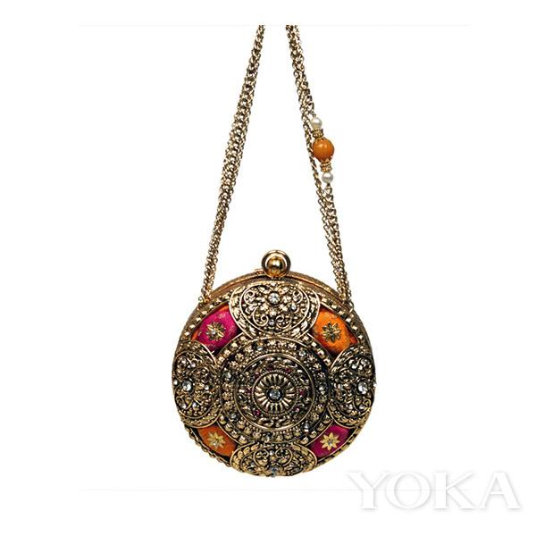 Meera Mahadevia宝石包(图片来源于strandofsilk)