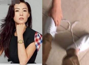 张柏芝买最贵鞋子竟是地摊货 向菲佣炫耀示范何谓时尚