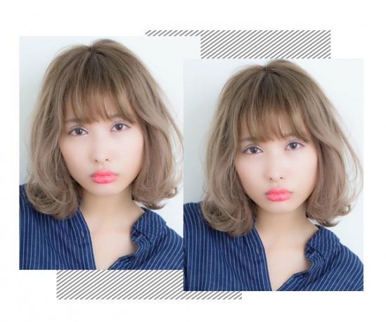 脸型宽大适合什么发型 巧用发型拯救大饼脸图片