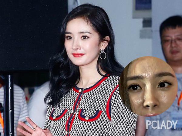 刘亦菲和杨幂之间 差了一支妆前乳的距离
