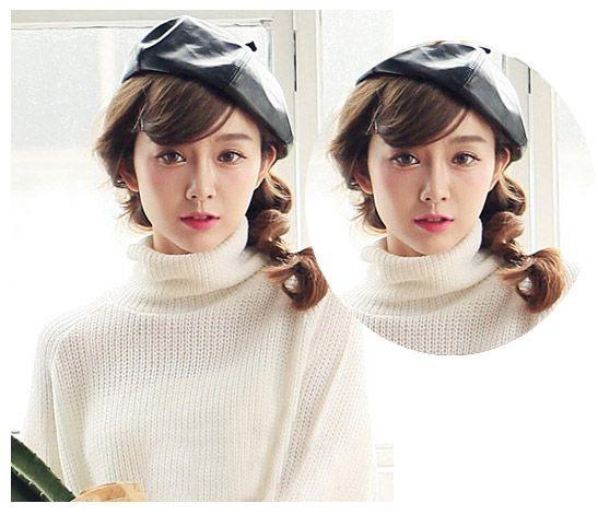 俏皮可爱的侧边编发发型你会喜欢吗?