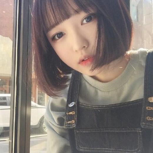 2017年最流行圆脸短发