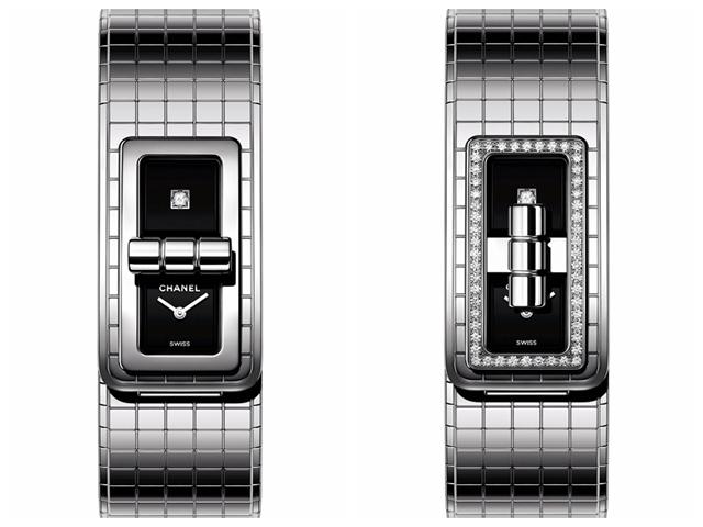 coco code腕表,图片来源于CHANEL。