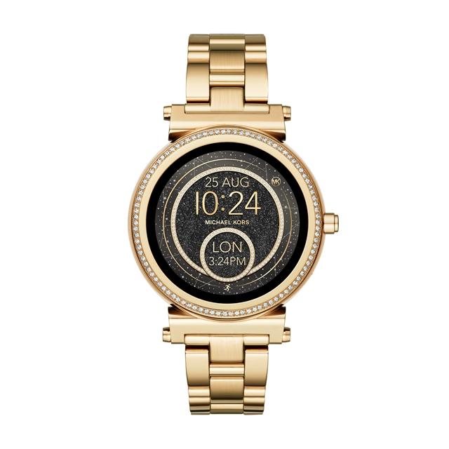 Michael Kors Access 智能触屏腕表,价格3390元,图片来源FOSSIL。