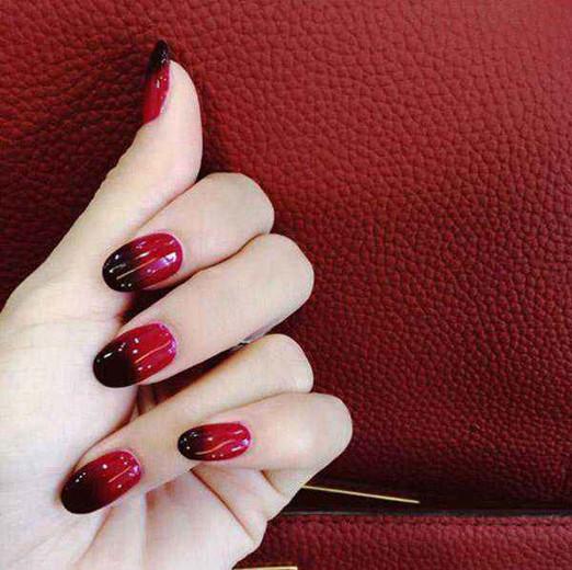 显气质的美甲大红美甲2017款式 带你玩转百变红色