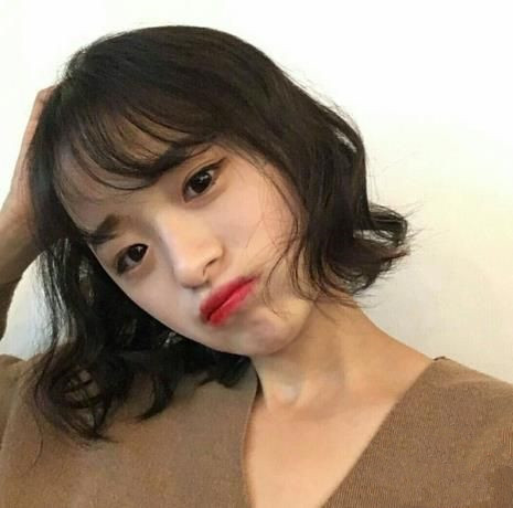 短发适合什么刘海发型 短发女生刘海怎么弄好看图片