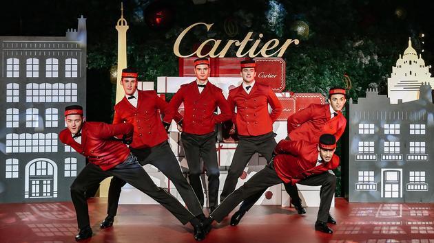 Cartier Boy开场舞蹈表演