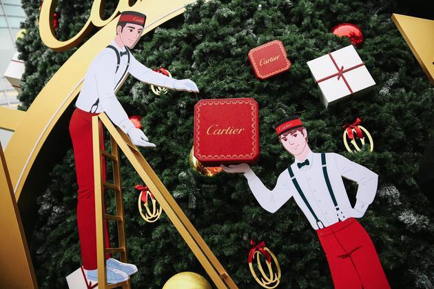 卡地亚圣诞树-上海城景细节