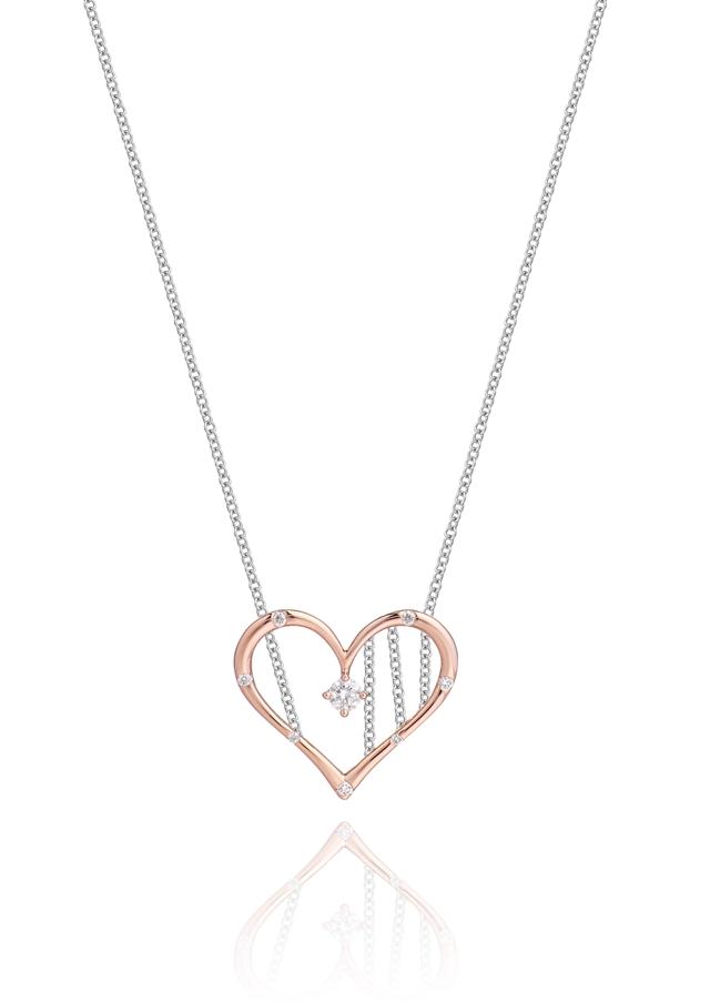 英皇珠宝「heartbeat」心动系列,图片来源于英皇珠宝。