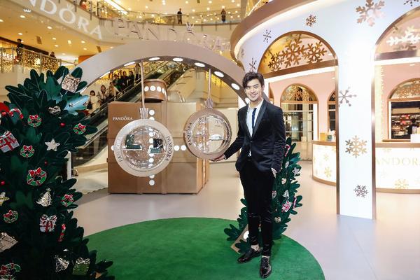 PANDORA 圣诞活动现场,图片来自PANDORA。