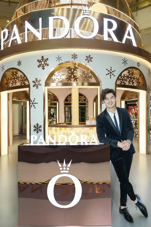 PANDORA 中国首位品牌挚友-陈柏霖,图片来自PANDORA。