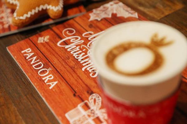 PANDORA 3D 拉花咖啡,图片来自PANDORA。