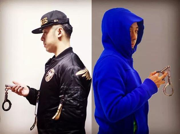 左:弟弟程杰 右:哥哥程俊