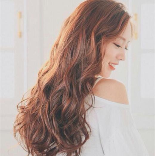 2018韩式中长发卷发大合集 想换发型的可以参考