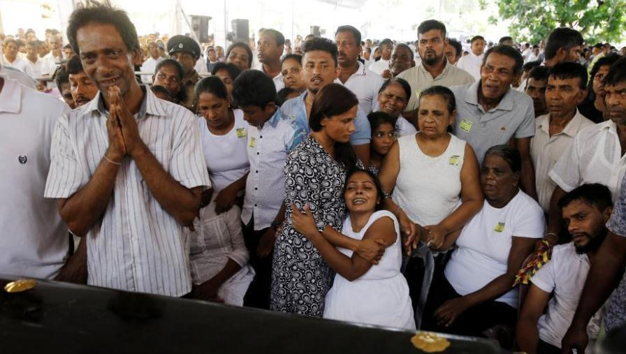 斯里兰卡集体葬礼