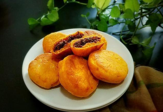 【豆沙馅南瓜饼的做法】豆沙南瓜饼怎么做 豆沙南瓜饼的营养价值