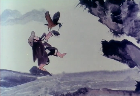 此外,1984年的水墨动画片《鹬蚌相争》也由他执导。