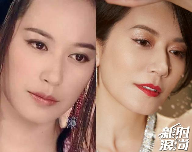 左:《小李飞刀》惊鸿仙子 右:俞飞鸿2019年珠宝大片