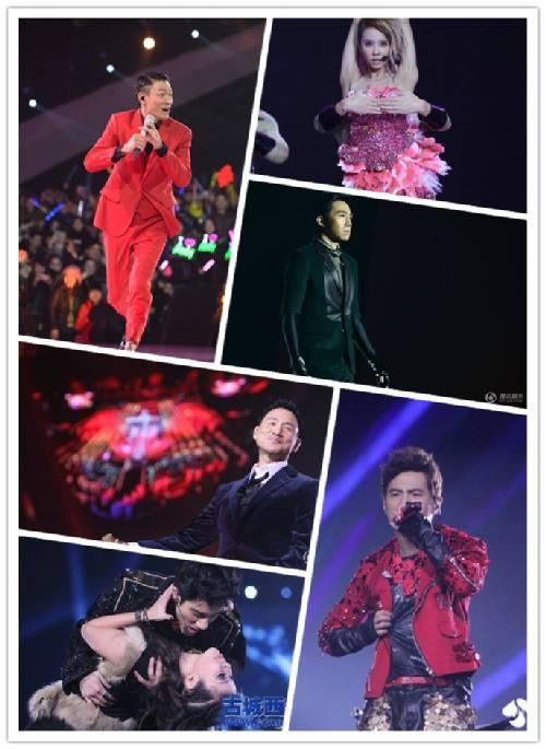 各地跨年演唱会嘉宾出场价大曝光 刘德华200万最超值