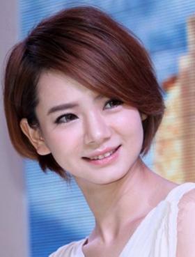 赵薇的短发发型图片展示图片