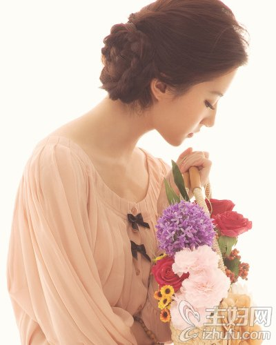 神仙姐姐刘亦菲多姿发型风格甜美优雅都迷人(7)