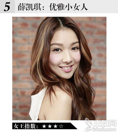 王菲张雨绮领衔狮子座女明星演绎女王发型(5)图片
