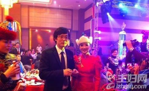 凤凰传奇杨魏玲花和徐明超在鄂尔多斯结婚照曝光
