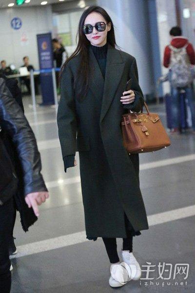 呢子大衣搭配示范 主妇服饰 主妇网