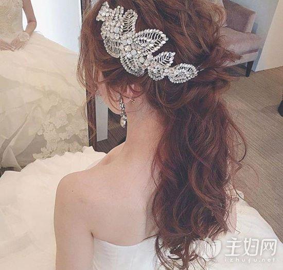 年底结婚季 9款美翻了的新娘发型专为准新娘准备图片