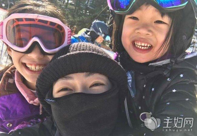 [大小s是谁带出来的]小S带女儿日本滑雪引关注 带孩子滑雪好吗需要注意哪些安全问题