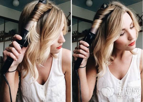 卷发棒怎么用不伤头发