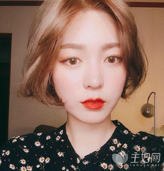 【2017流行韩式短发图片】8款好看有气质的韩式短发给