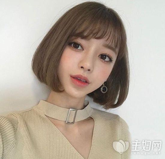 发型设计 > 2017韩国内扣短发