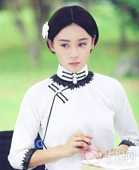 袁姗姗短发