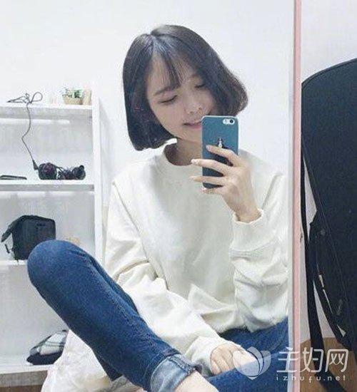 瓜子脸剪什么刘海