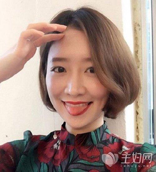 瓜子脸适合的刘海发型