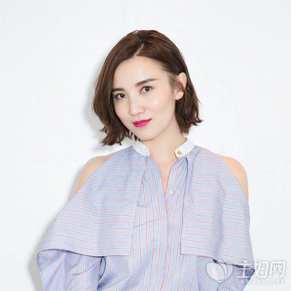 小宋佳短发发型图片